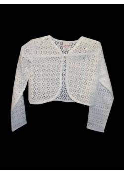 Cotton Lace Bolero Ideal For Holy Communion