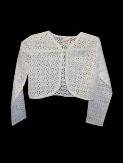 Cotton Lace Bolero Ideal For Holy Communion...
