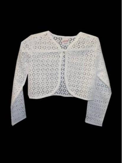Cotton Lace Bolero Ideal For Holy Communion...