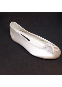 Soft White Satin Shoes Ideal For First Communion: Special April month reduction