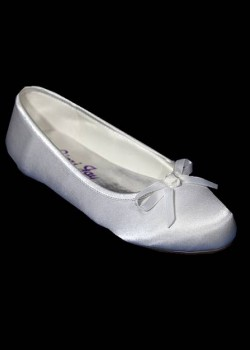 Flat Ballet style shoes Ideal For First Holy Communion