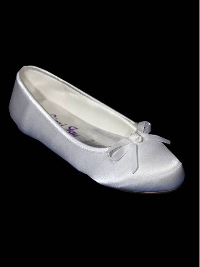 Flat Ballet style shoes Ideal For First Holy Communion...