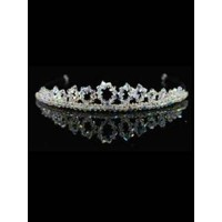 Crystal loop Tiara Ideal For Communion