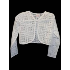 Cotton Lace Bolero Ideal For First Communion