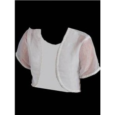 Organza Bolero Ideal For First Communion