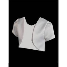 Satin Bolero Ideal For First Communion