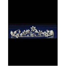 Porcelain Flower Tiara Ideal For Communion
