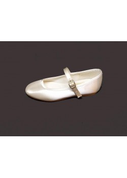Bar shoes, without a small heel, Ideal For First Communion: