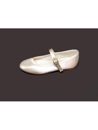 Bar shoes, without a small heel, Ideal For First Holy Communion:...