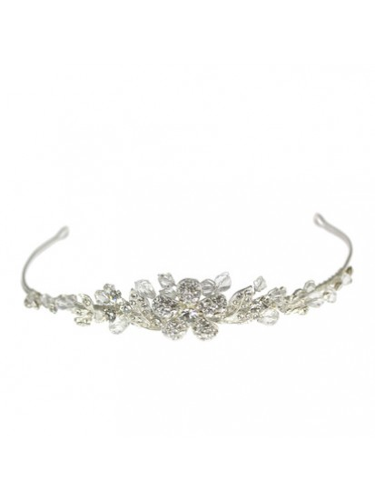 Diamante Centre Flower Tiara that will compliment the First Communion Dress...