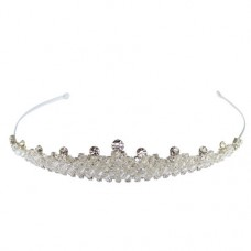 Full Crystal & Diamante Tiara