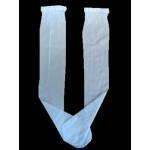 White Knee High Pop Socks Ideal For First Communion
