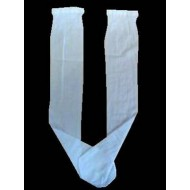 White Knee High Pop Socks Ideal For First Communion