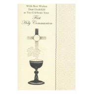Godchild First Holy Communion Card