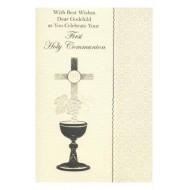 Godchild First Holy Communion Card