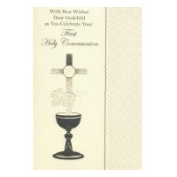 Communion Card Godchild