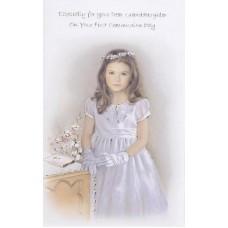 Communion Card Granddaughter