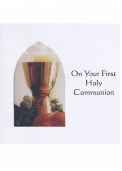 Communion Card Generic For First Holy Communion
