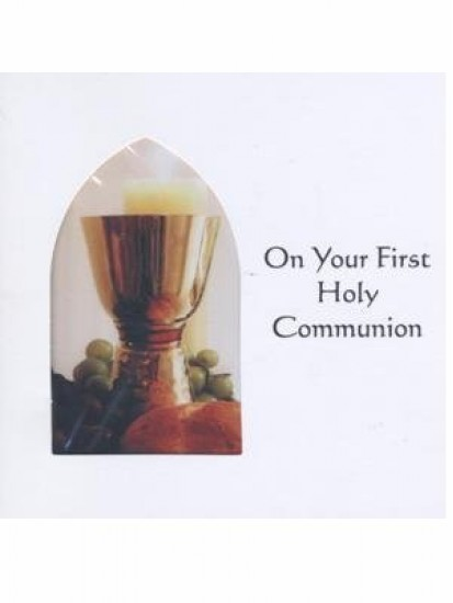 Communion Card Generic For First Holy Communion...