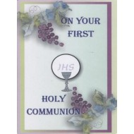 Holy Communion Card Generic with Blessings