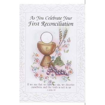 First Reconciliation Card