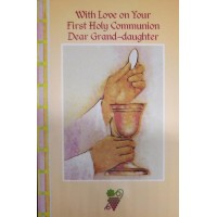Communion Card Grand Daughter
