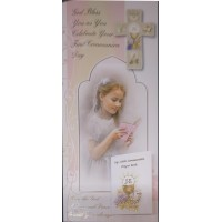 Boxed Communion Card Girl