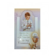 Grandson 1st Communion Card