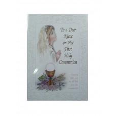 Communion Card Niece