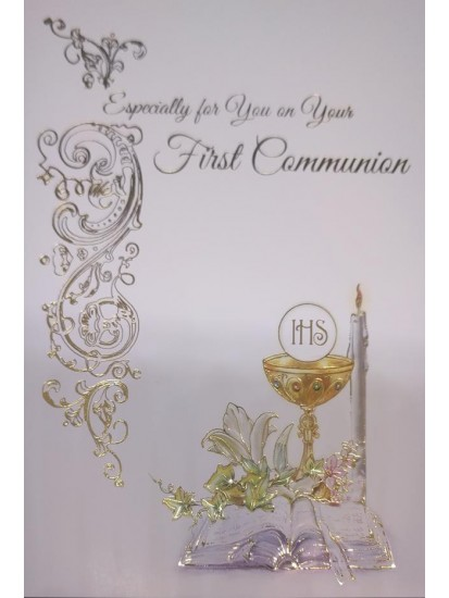 Generic First Holy Communion Card...