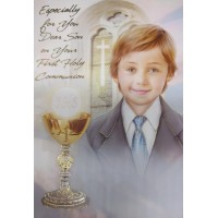 Communion Card Son