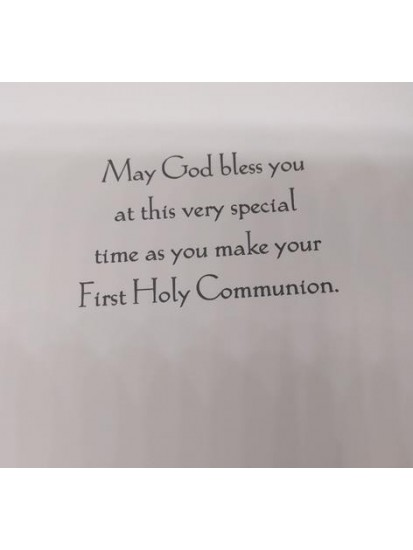Brother First Holy Communion Card...