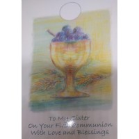 Communion Card Sister