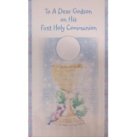 Communion Card Godson