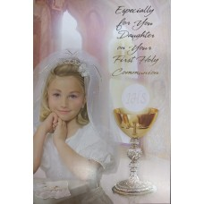 Communion Card Daughter