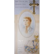Son Boxed First Holy Communion Card