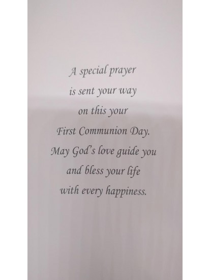 Son Boxed First Holy Communion Card...