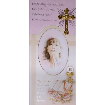 Daughter Boxed Communion Card