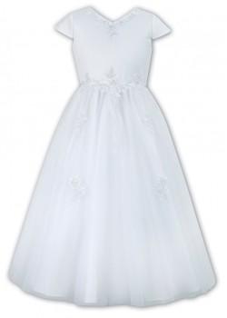 Flared Net Skirt Holy Communion Dress