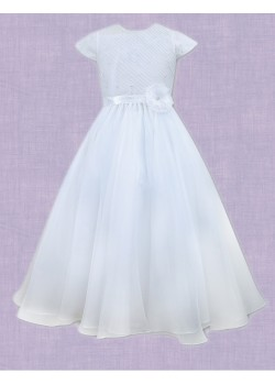 Flared Organza First Holy Communion Dress: