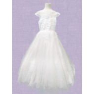 Ankle Length First Holy Communion Dress: