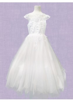 Ankle Length First Holy Communion Dress