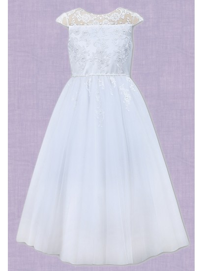 Flair Ankle length First Communion Dress...