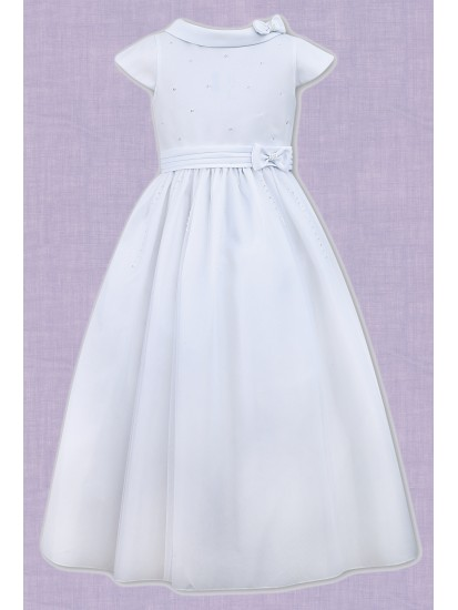 Net & Satin First Holy Communion Dress...