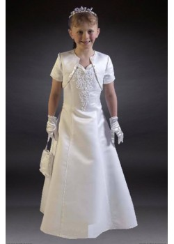 Unique Communion Dress available only in size 25 approx age 7yrs