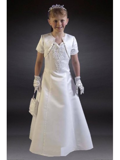 Unique Communion Dress available only in size 25 approx age 7yrs...
