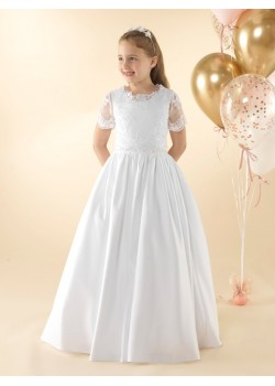 Pretty 2 piece First Holy communion dress.