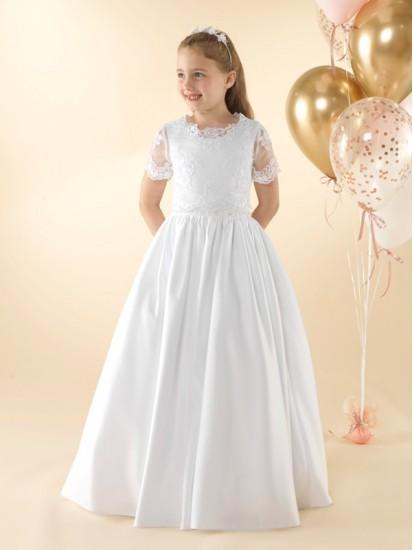 Pretty 2 piece First Holy Communion dress.:...