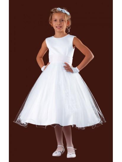 Short Lenght Holy Communion Dress:...