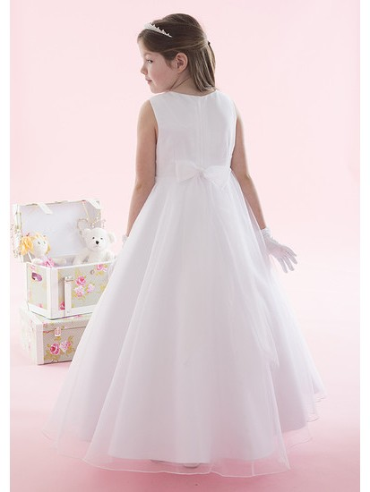 Sparkly Holy Communion Dress with Organza Skirt...
